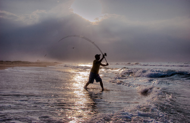 Outer Banks Surf Fishing Tips Tricks First Flight