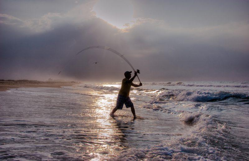 Fishing in Hatteras,